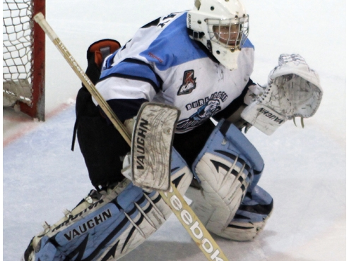 Hot Goalie, Cooler Heads Help Cougars Collect Win